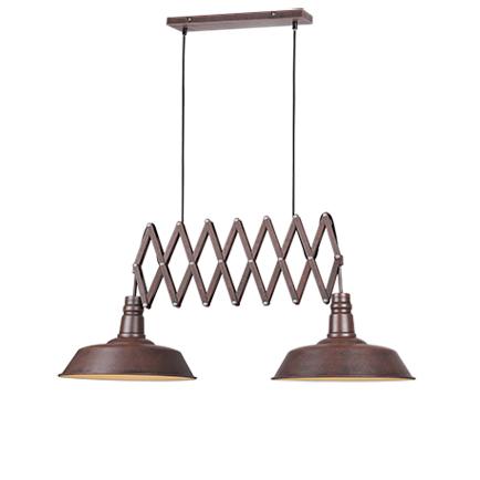 Przemysłowa lampa wisząca rdza 2-stopniowa regulacja - Mancis