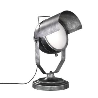 Przemysłowa lampa stołowa srebrna regulowana - Cinema