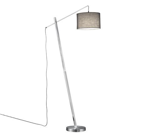 Landelijke vloerlamp staal - Ard