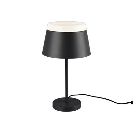 Designerska lampa stołowa szara - Esra