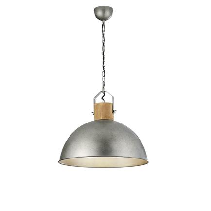 Industriële hanglamp staal - Arti