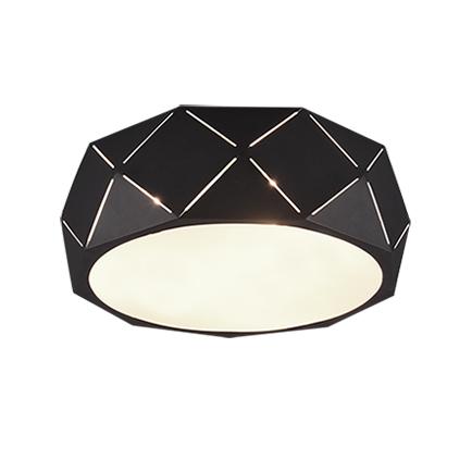 Design plafonnière zwart 40 cm - Kris