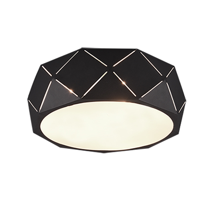 Design plafonni�re zwart 40 cm - Kris