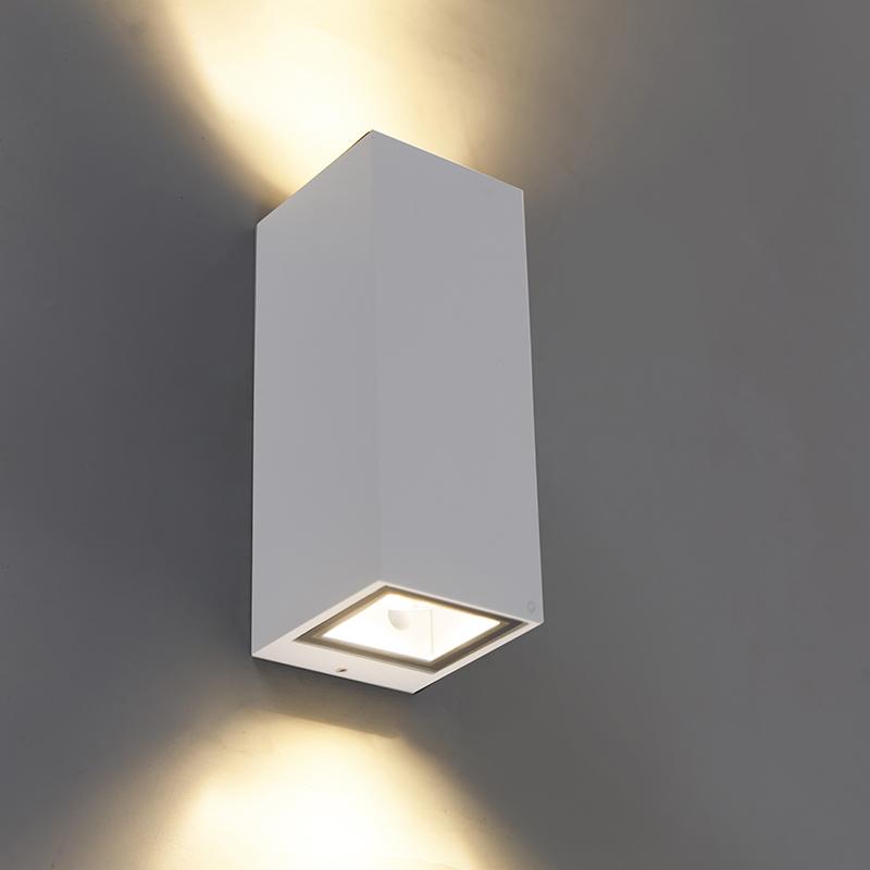 Moderne wandlamp wit GU10 AR70 IP54 - Baleno II
