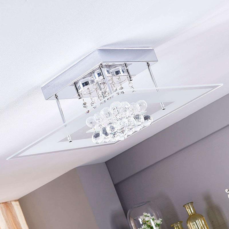 Moderne plafondlamp incl. LED IP44 - Lisandra