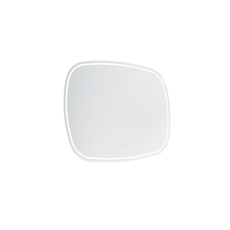 Badkamerspiegel 60x80 cm incl. LED met touch dimmer IP44 - Miral