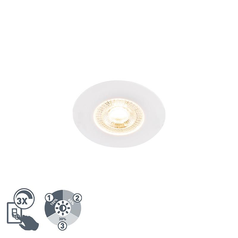 Oprawa do wbudowania biała 3-stopniowe ściemnianie - Ulo