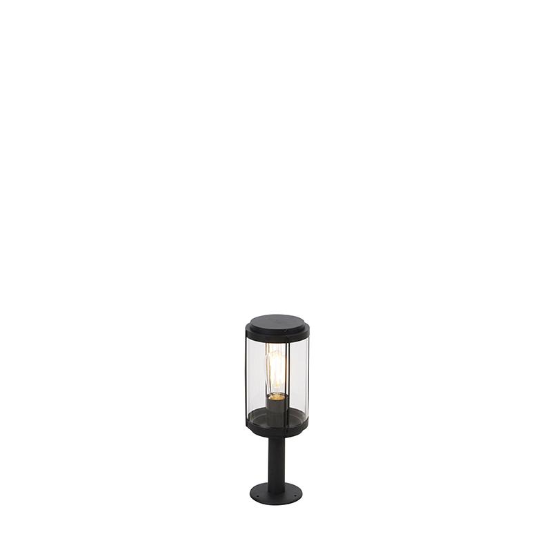 Design buitenlamp zwart 40 cm IP44 - Schiedam