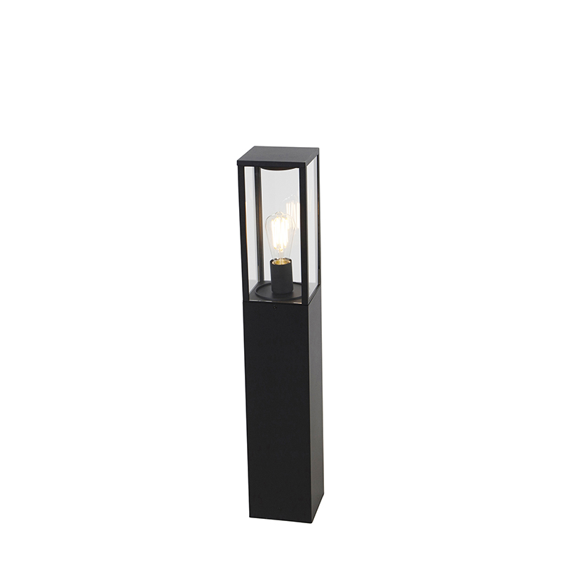 Przemysłowa lampa zewnętrzna czarna 80 cm IP44 - Charlois