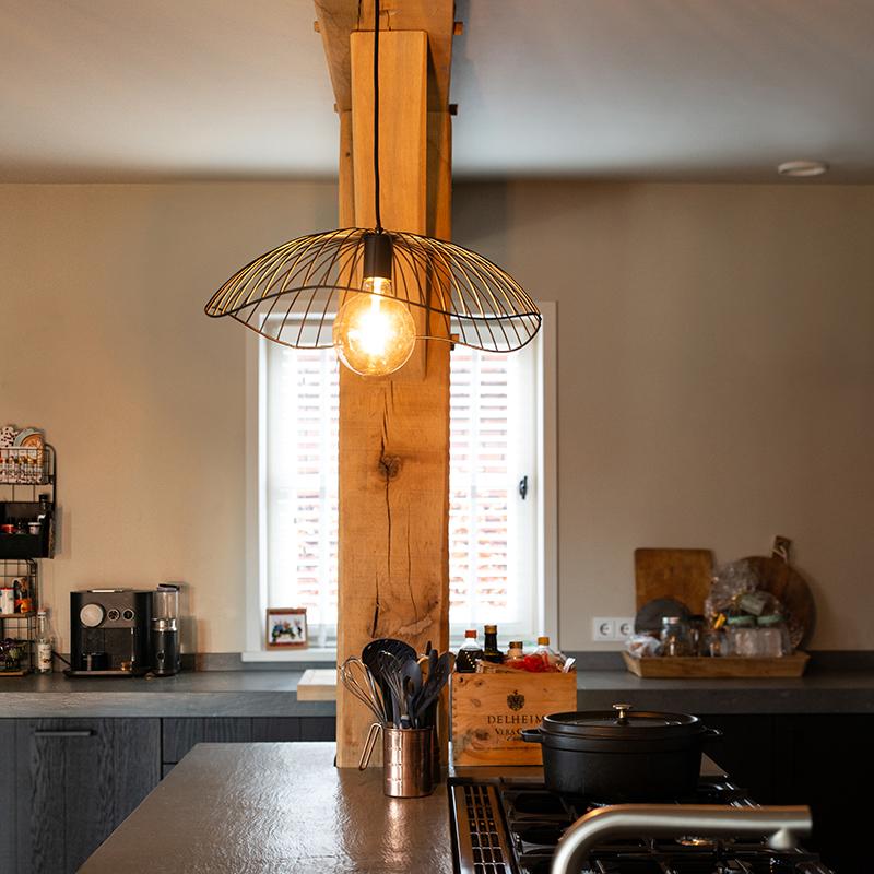 Design hanglamp zwart 50 cm - Pua