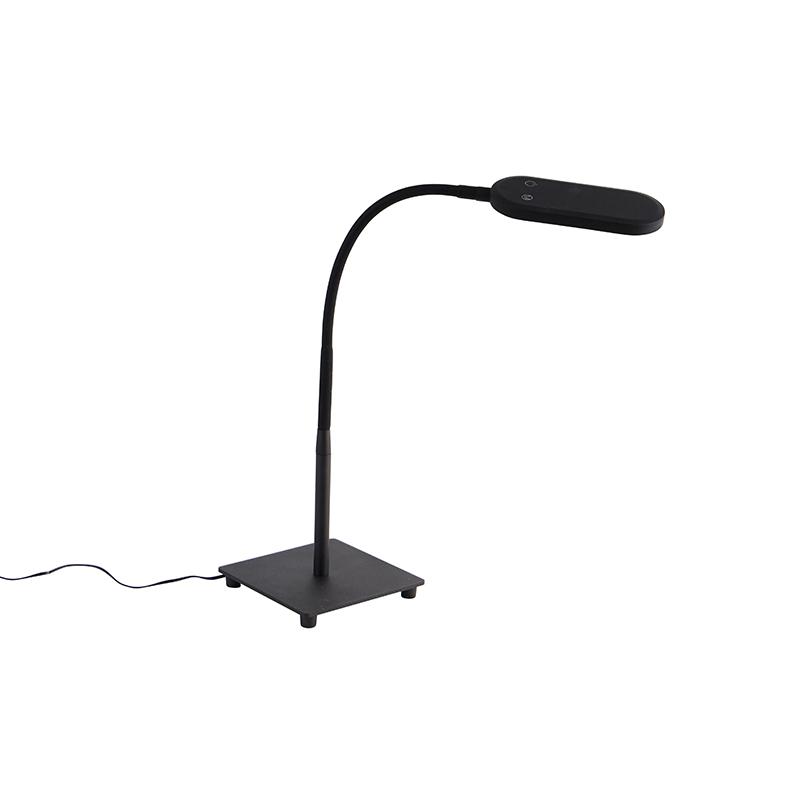 Moderne tafellamp zwart incl. LED 4-staps dimbaar - Botot