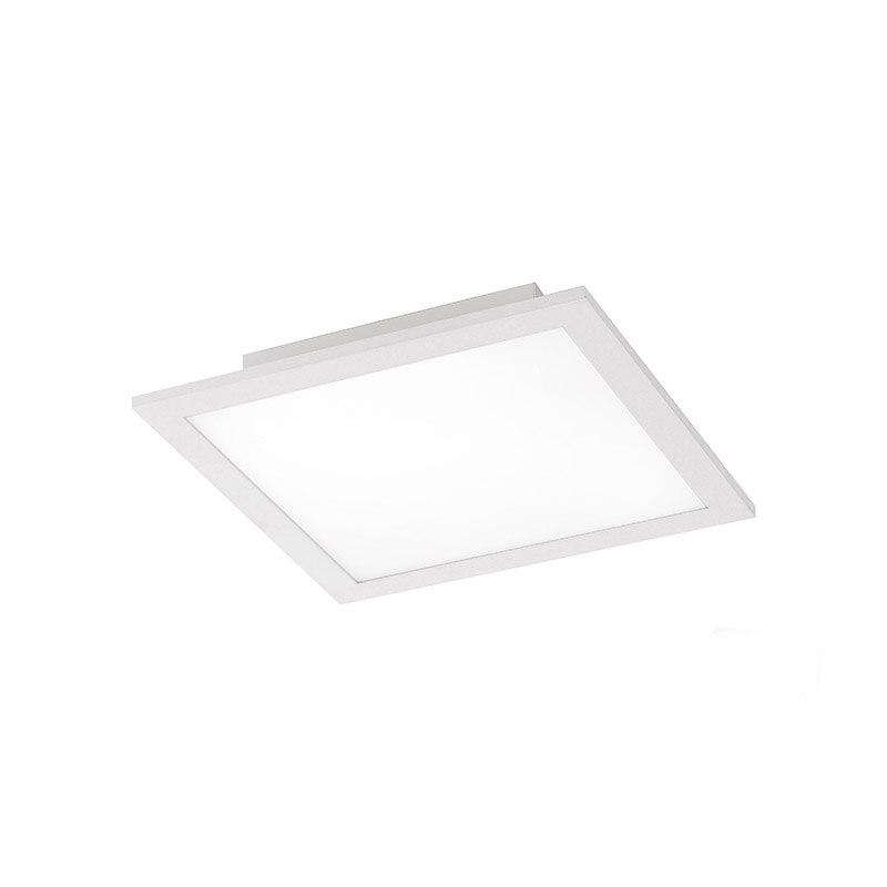 Plafonnière wit 30 cm incl. LED met afstandsbediening - Orch