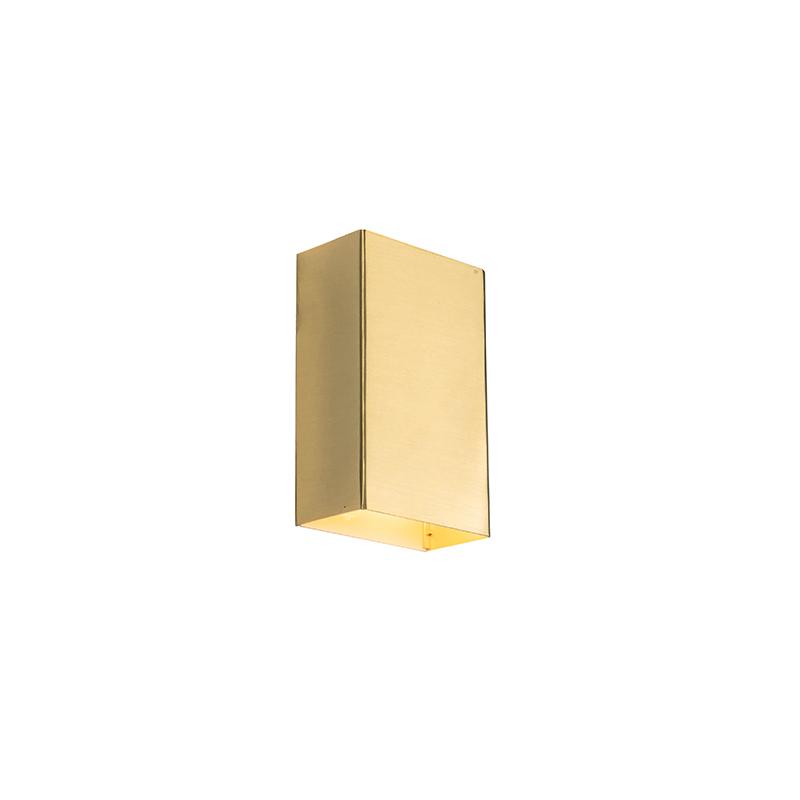 Moderne wandlamp goud - Otan S
