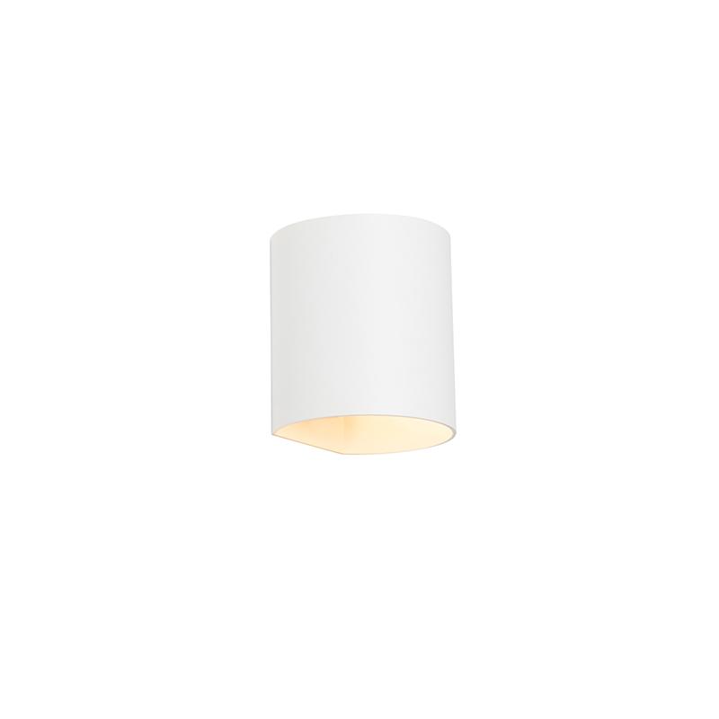 Moderne wandlamp wit - Sabbio