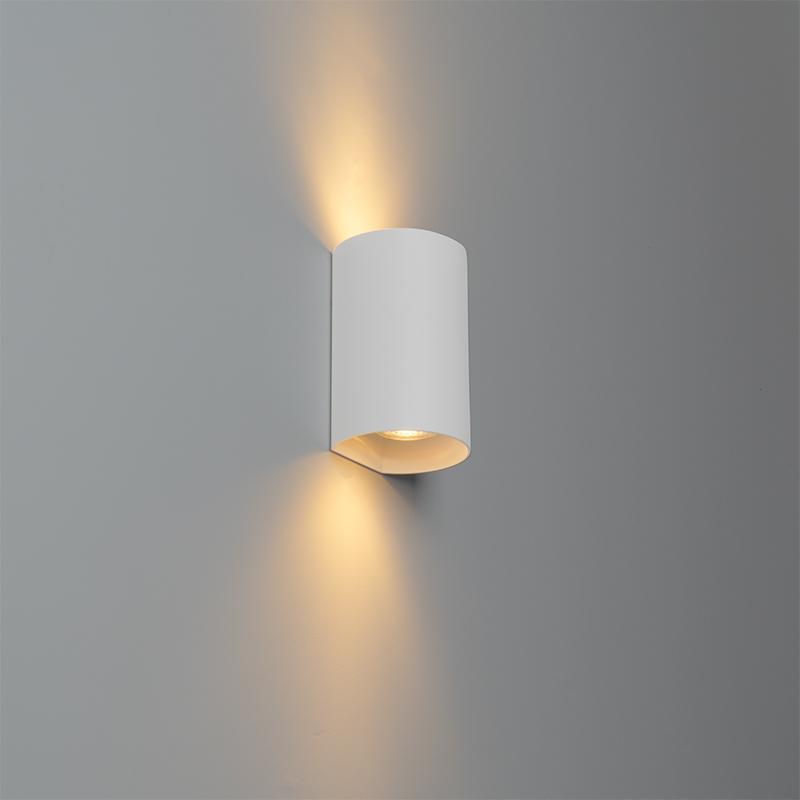 Design ronde wandlamp wit - Sabbir