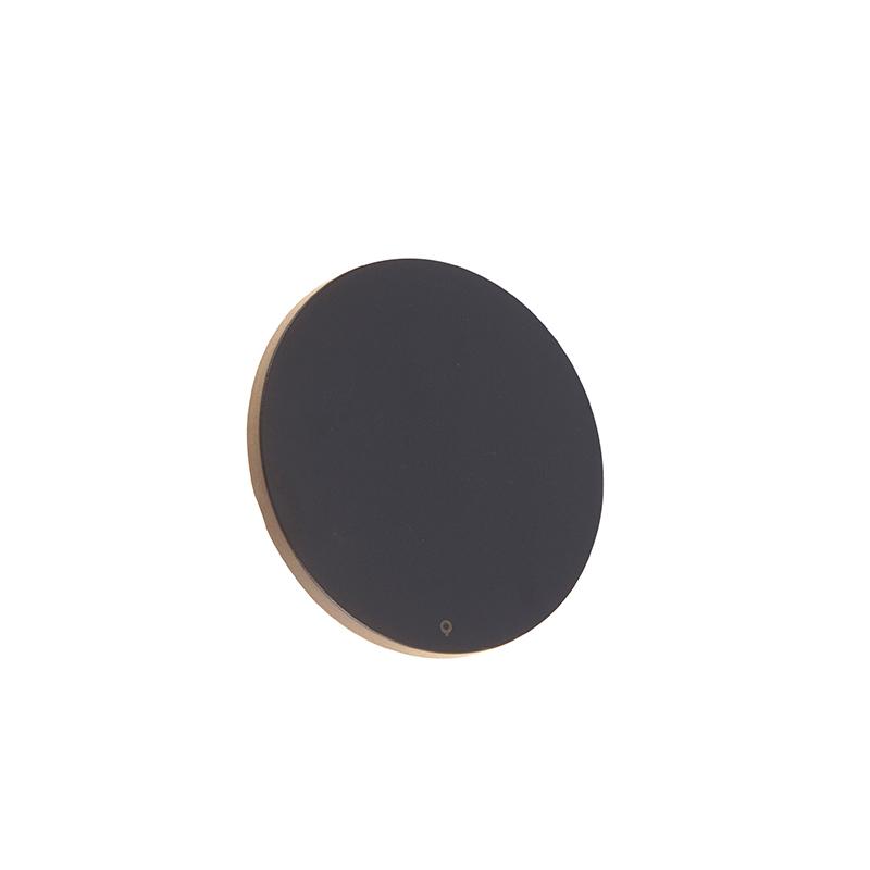 Design wandlamp grijs kunststof 16,5 cm incl. LED 8W - Skyf
