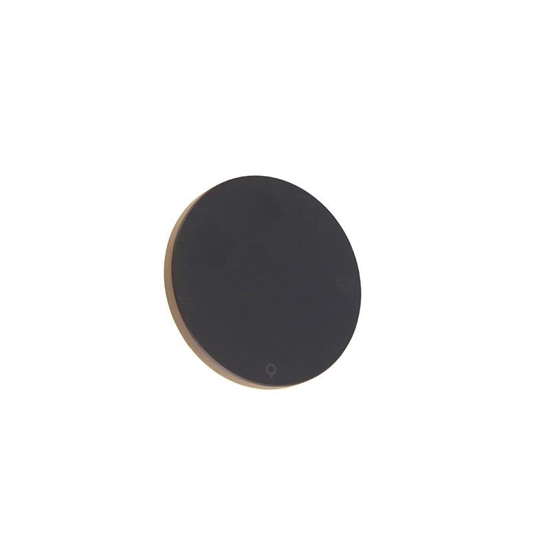 Design wandlamp grjis aluminium 15 cm incl. LED 10W - Skyf