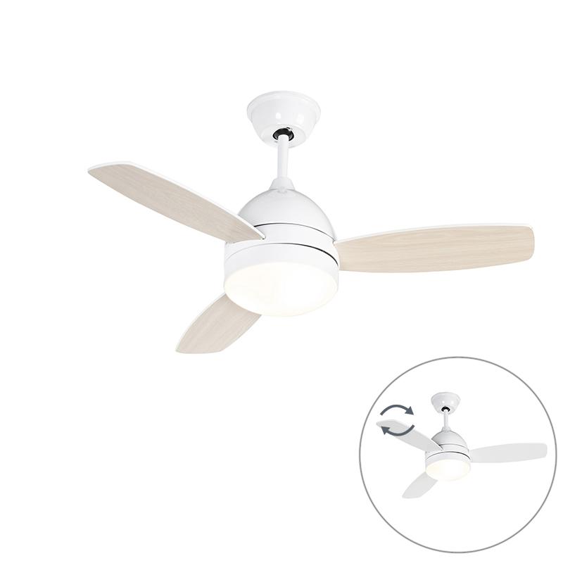 Plafondventilator wit met afstandsbediening - Rotar