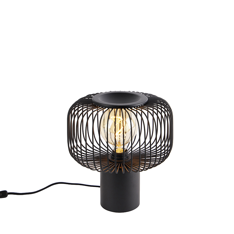 Design tafellamp zwart - Baya