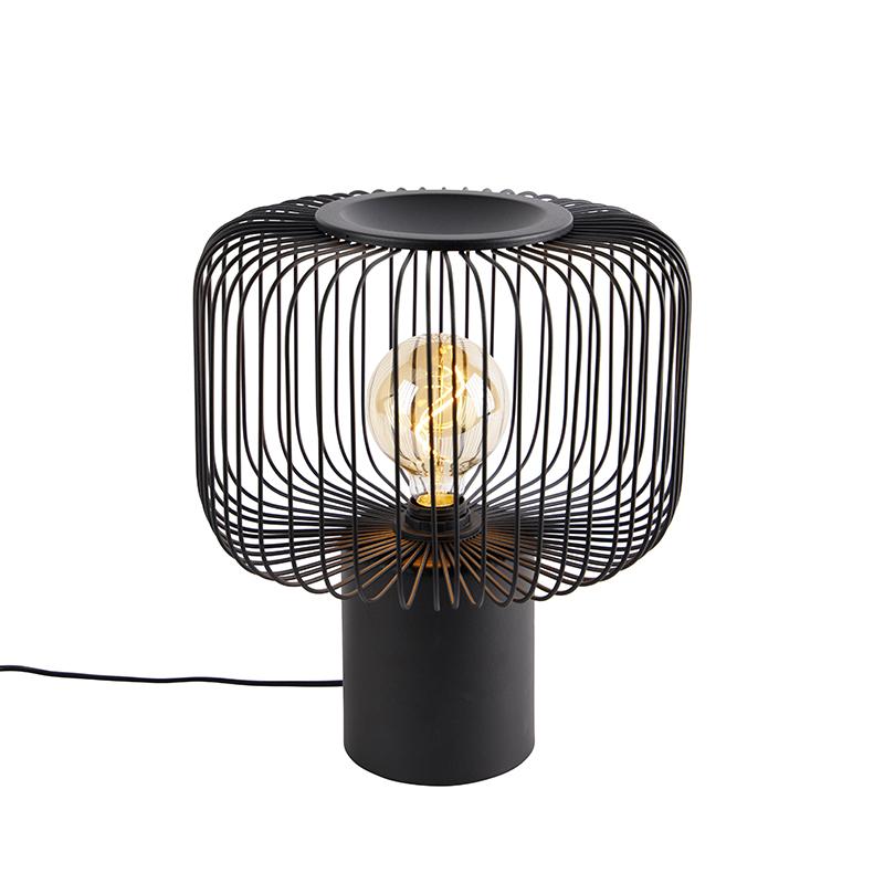 Design tafellamp zwart 32 cm - Baya