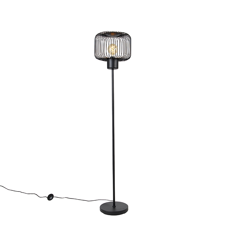 Design vloerlamp zwart - Baya