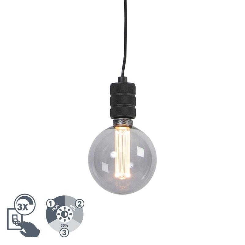 Lampa wisząca z żarówką E27 G125 3-stopniowe ściemnianie - Cavalux