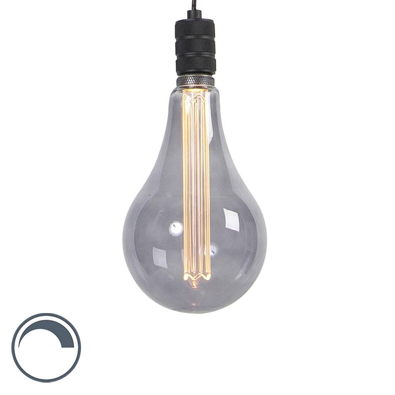 Lampa wisząca z żarówką E27 A165 ściemnialna - Cavalux