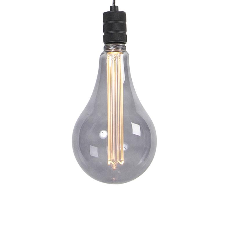 Hanglamp incl. A165 smoke dimbaar - Cavalux