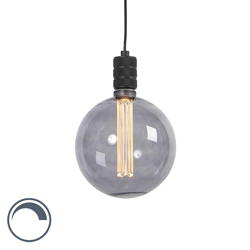 Designerska lampa wisząca przydymionego szkła, w tym G200 - Cavalux