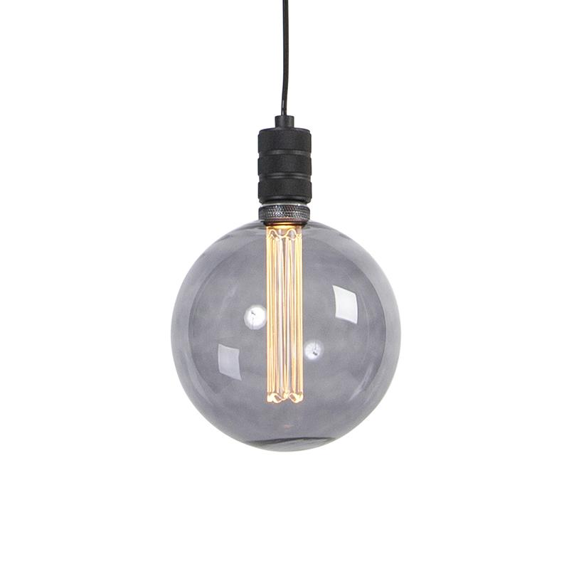 Design hanglamp smoke glas incl. G200 - Cavalux
