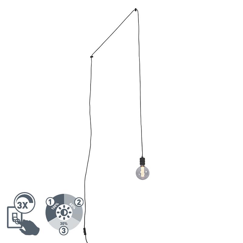Lampa z żarówką E27 G125 3-stopniowe ściemnianie - Cavalux