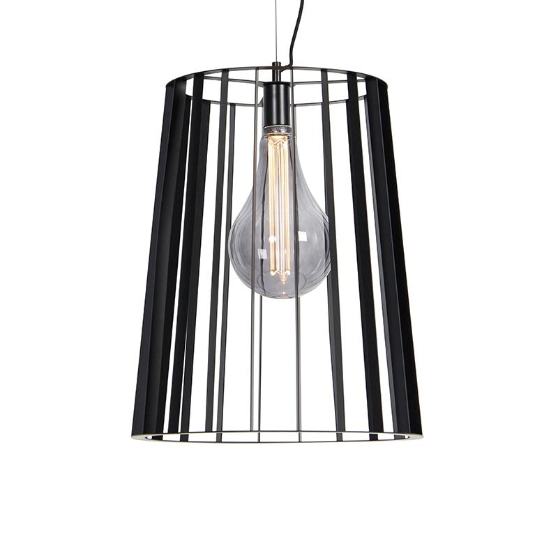 Moderne hanglamp zwart - Wieza