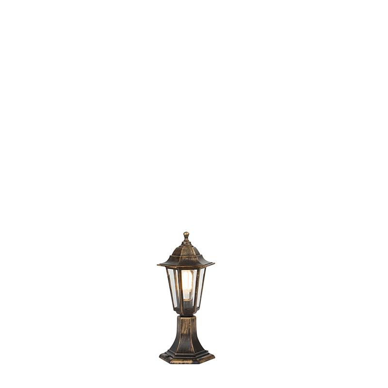 Lampa zewnętrzna mosiądz antyczny IP44 - New Haven