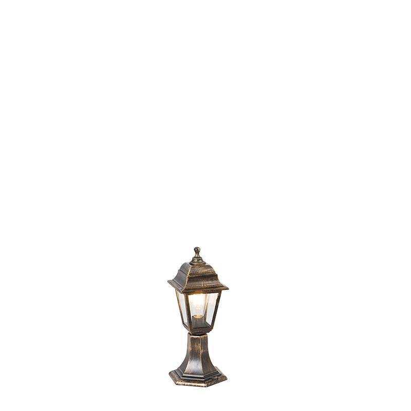 Klassiek buitenpaaltje antiek goud 44 cm - Capital
