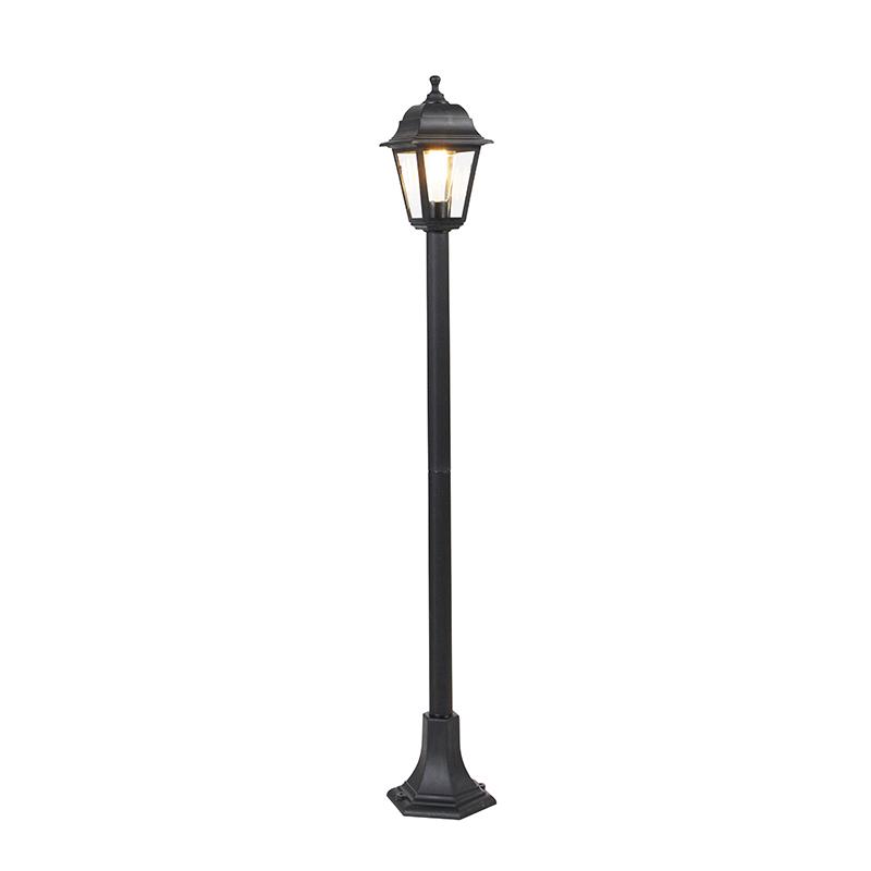 Klassieke lantaarn zwart 122 cm IP44 - Capital
