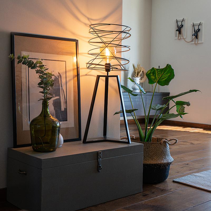 Design tafellamp zwart - Spira