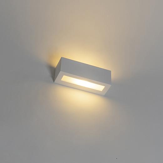 Moderne wandlamp wit - Tjada Novo