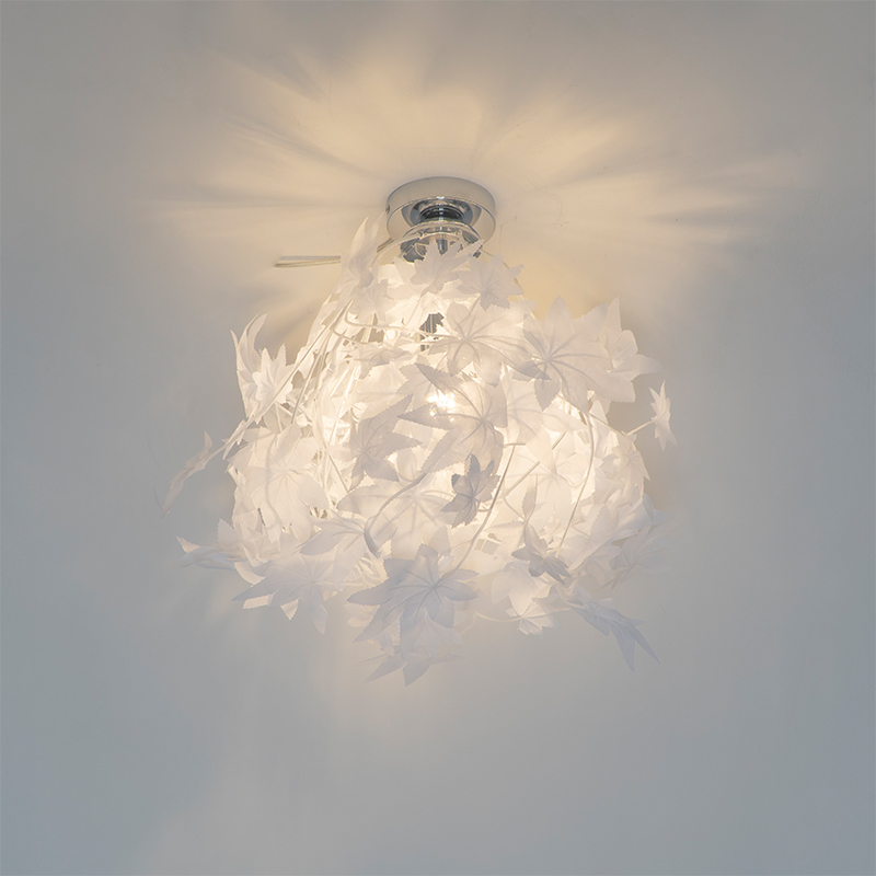 Landelijke plafondlamp wit - Feder