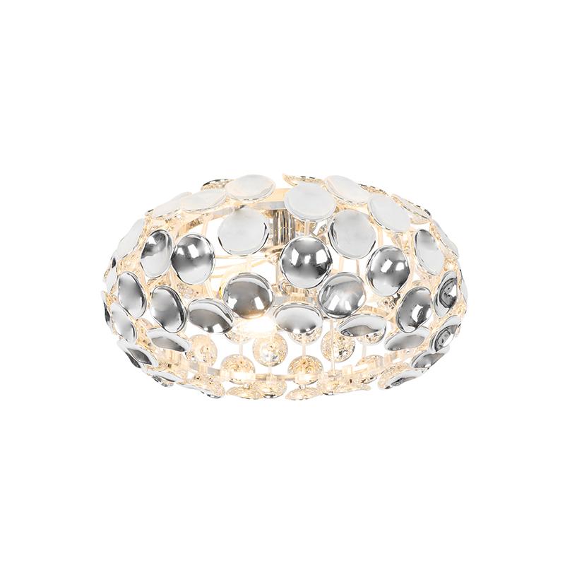 Design plafondlamp chroom - Reza