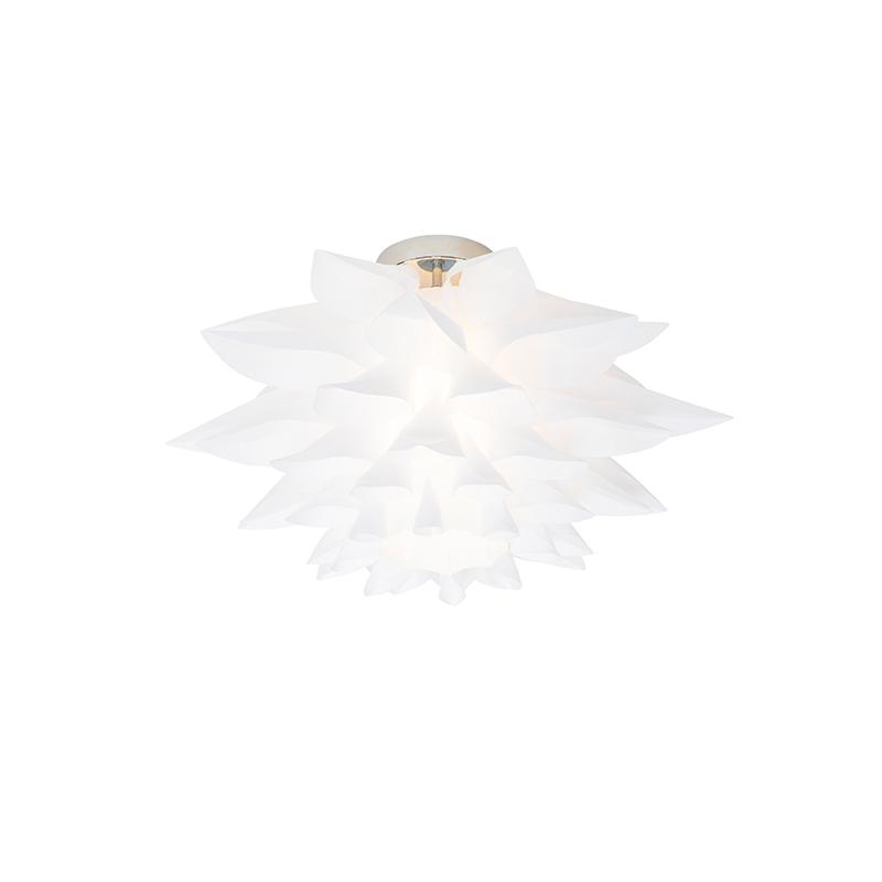 Design plafondlamp wit 50 cm - Rimon