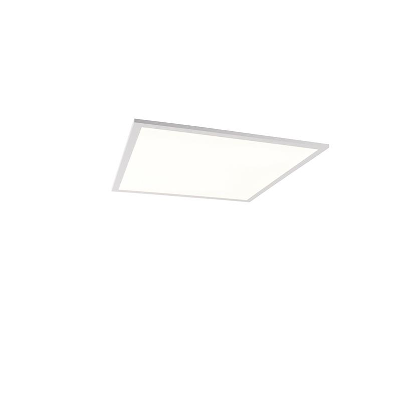 Plafonnière wit incl. LED en dimmer met afstandsbediening - Liv