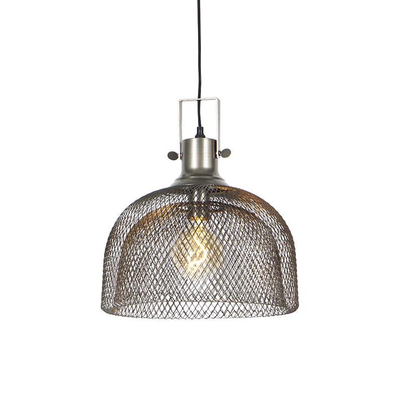 Industriële hanglamp staal - Arti Wire