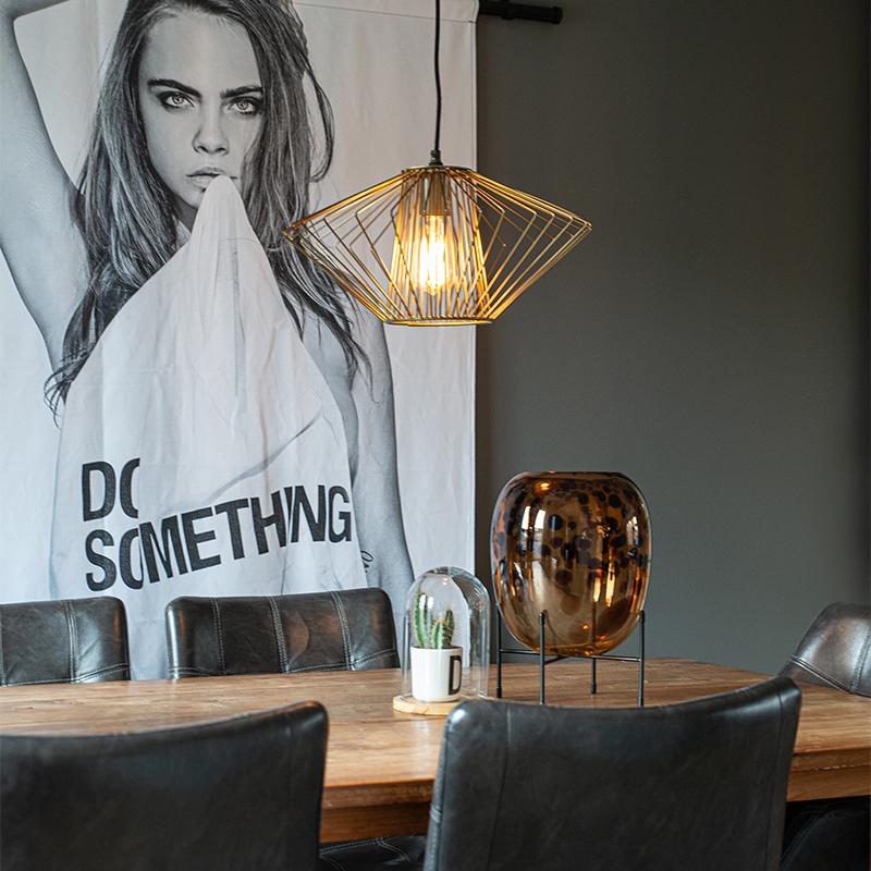 Design hanglamp messing - Stiel