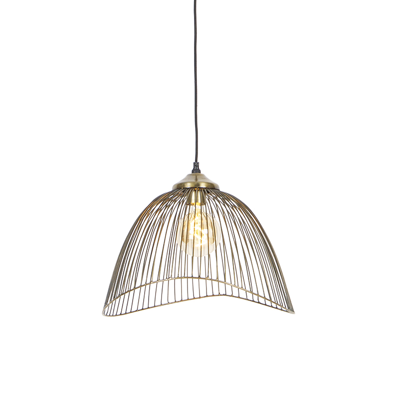 Design hanglamp messing 39,8 cm - Pia