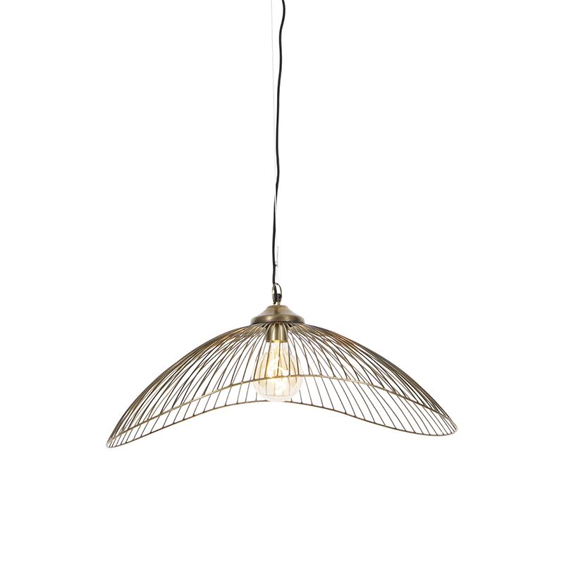Design hanglamp messing 64 cm - Pia