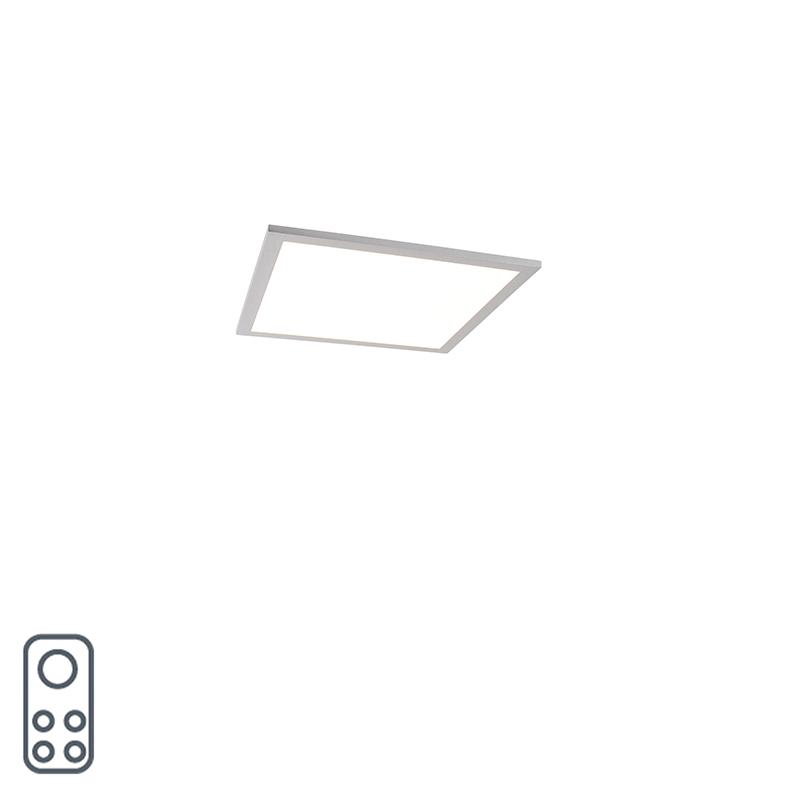 Modern LED-paneel 40 cm incl. LED en dimmer - Liv