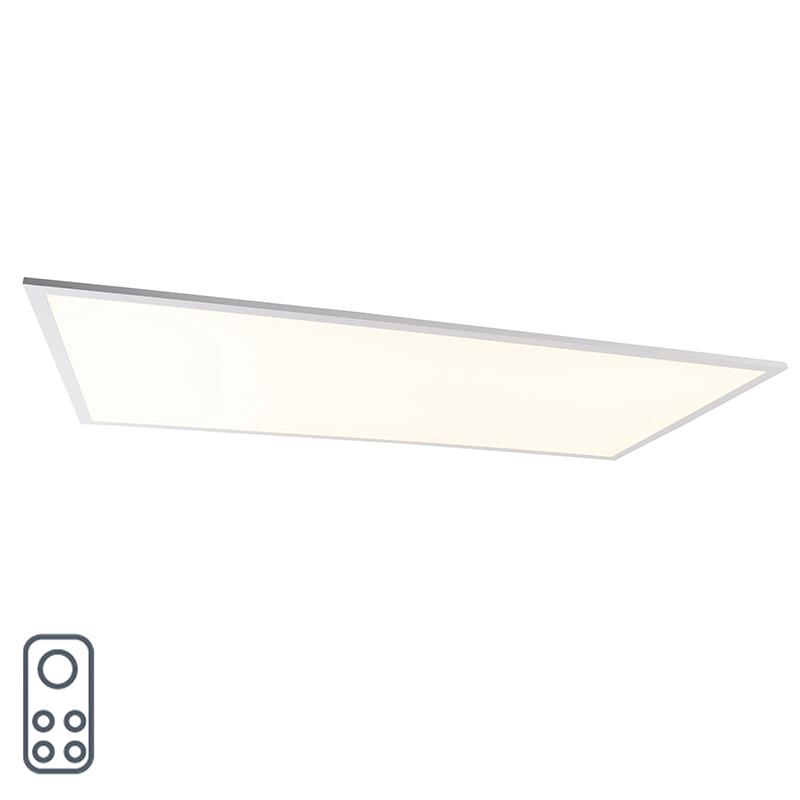 LED-paneel wit dimbaar met afstandbediening 120 cm - Arya Q