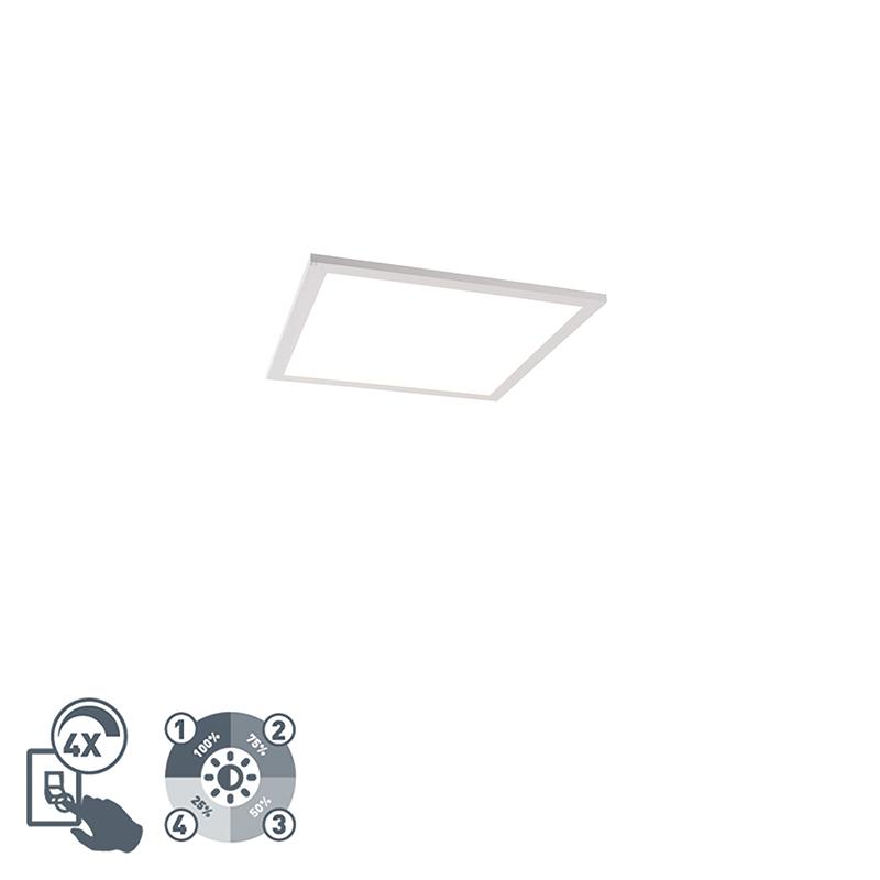 Plafondlamp wit 40 cm incl. LED 4-staps dimbaar - Liv