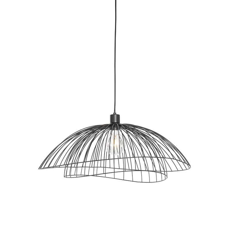 Design hanglamp zwart 60 cm - Pua