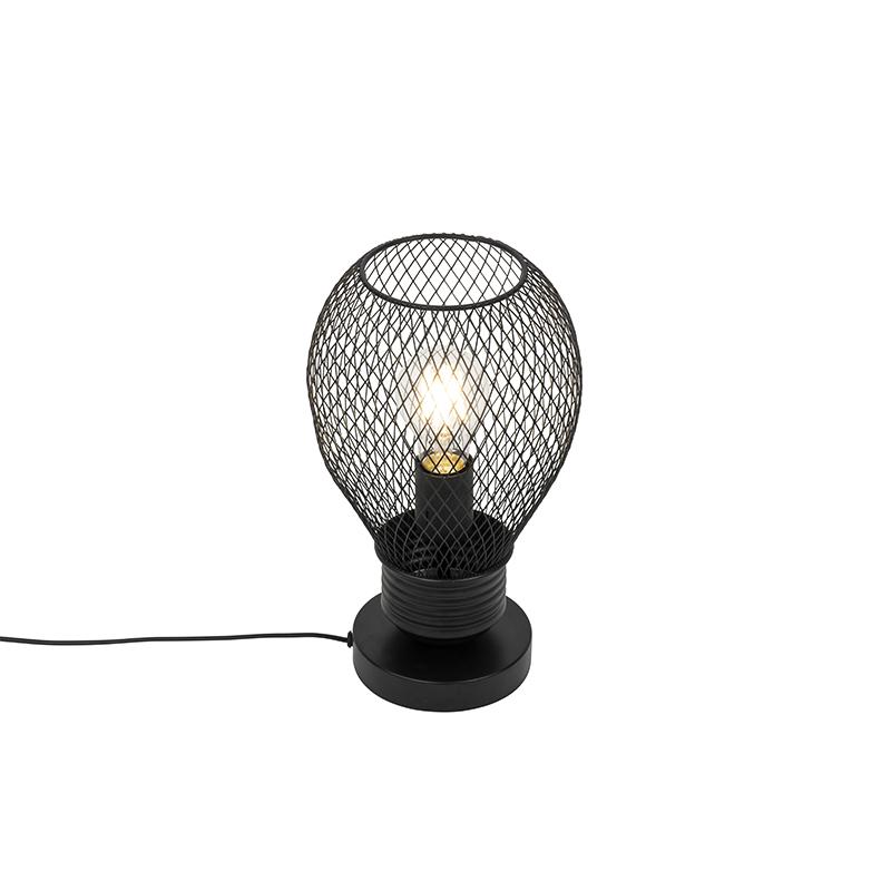 Design tafellamp zwart - Raga